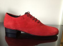 MARCHANT RED SUEDE